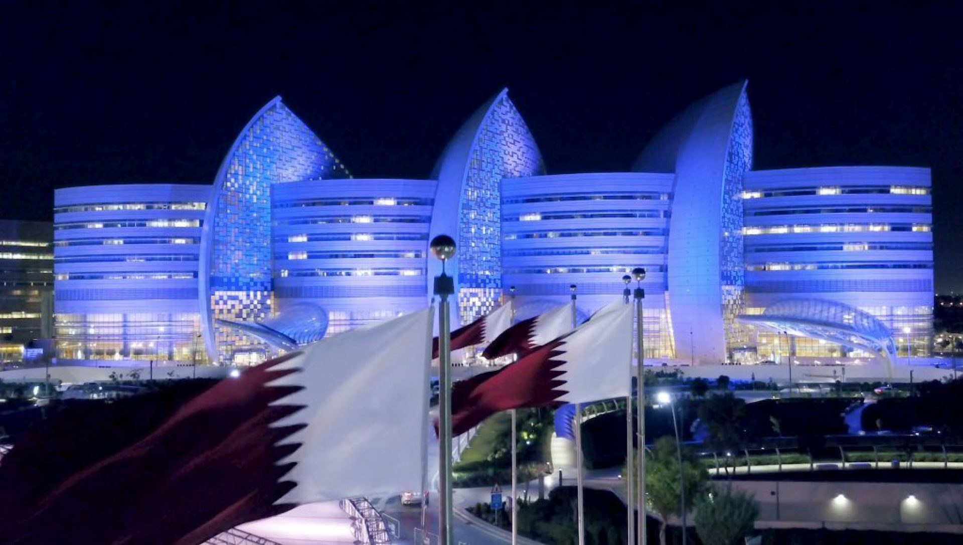 Sidra Facade Illumination