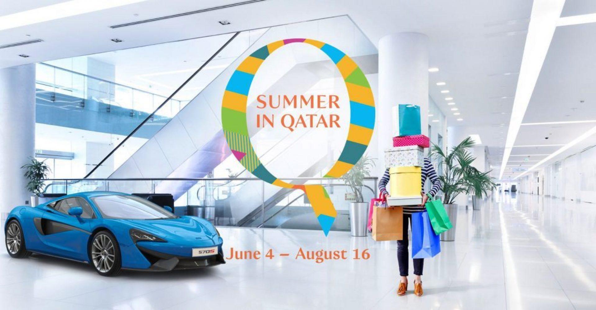 Summer in Qatar Slider